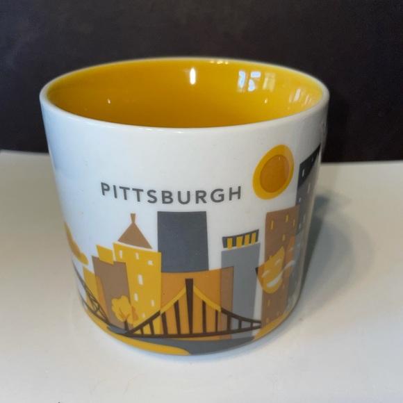 Starbucks Pittsburg You Are Here Mug BNIB